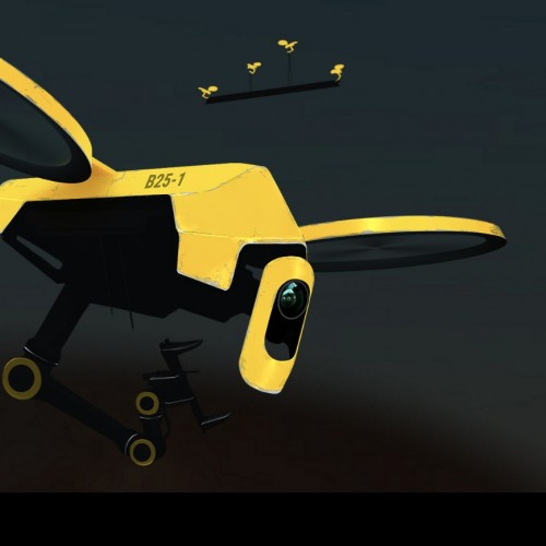 """Hives"" for drones"