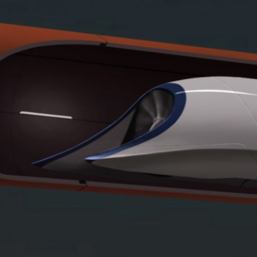 Transcontinental Hyper Loop trips